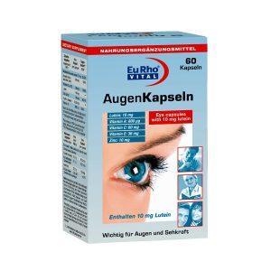 کپسول محافظ چشم اوژن یورو ویتال 60 عددی