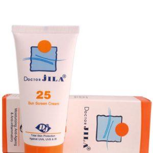 کرم ضد آفتاب دکتر ژيلا SPF25