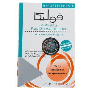 پن آنتی باکتریال پوست حساس pH 6.0 فولیکا 100gr