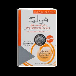 پن گوگردی ضد جوش و آنتی آکنه pH 5.0 فوليکا 100gr