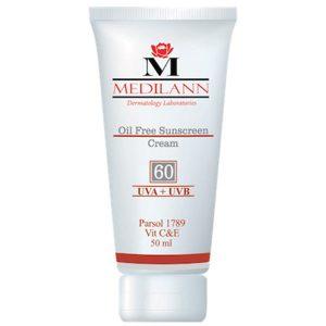 کرم ضد آفتاب مدیلن SPF60