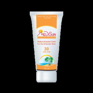 کرم ضد آفتاب مدیسان SPF30