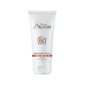 کرم ضد آفتاب غیر رنگی مدیسان SPF60