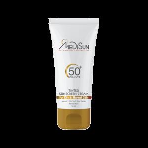 کرم ضد آفتاب رنگی مدیسان SPF50+