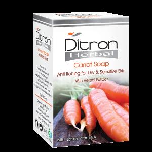 صابون هویج ضد خارش پوست دیترون