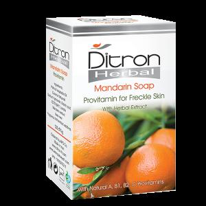 صابون نارنگی ویتامینه و روشن کننده پوست دیترون