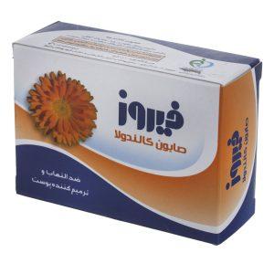 صابون کالندولا ضد التهاب و ترمیم کننده پوست فیروز