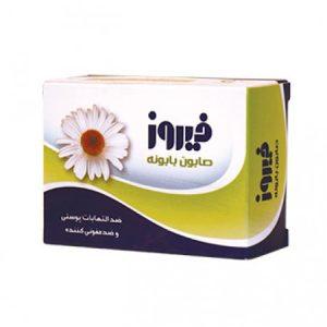 صابون بابونه ضد التهاب و ضد عفونی کننده پوست فیروز