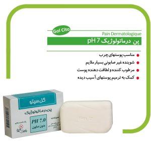 پن پاک کننده ملایم درماتولوژیک pH 7 گل سیتو 100g