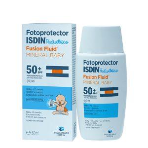 فلوئید ضد آفتاب بچه فتوپروتکتور فیوژن فلویید مینرال ایزدین SPF50+