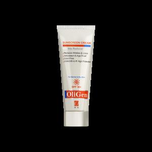 کرم ضد آفتاب پوست خشک و معمولی الی ژن +SPF30