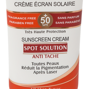 کرم ضد آفتاب و ضد لک اسپات سولوشن الارو SPF50+