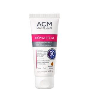 کرم ضد آفتاب و ضد لک رنگی دپی وایت.اس ای سی ام SPF50+
