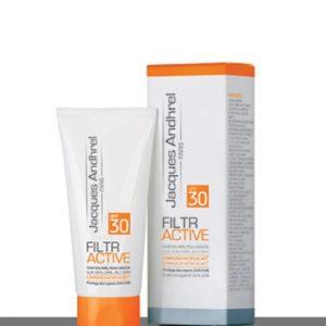 کرم ضد آفتاب پوست چرب فیلتر اکتیو ژاک آندرل SPF30