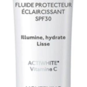 فلوئید محافظ روشن کننده صورت و گردن دپیدرم وایت اوریاژ SPF30 40ml