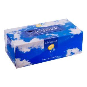 دستمال کاغذی آسمان آبی دو لایه برگ300 چشمک