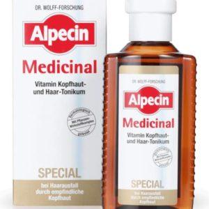 تونیک ویتامینه ضد خارش و پوسته سر مدیسینال اسپیشال آلپسین 200ml
