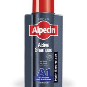 شامپو موی نرمال و خشک اکتیو A1 آلپسین 250ml