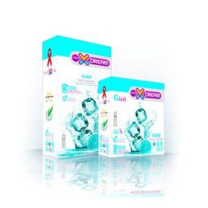 کاندوم سرد ایکس دریم 12عددی