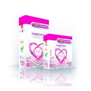 کاندوم لذت طولانی لانگ لاو ایکس دریم 12عددی
