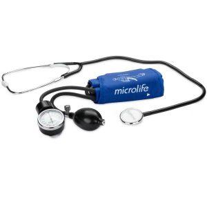 دستگاه فشار خون سنج عقربهای با گوشی طبی AG1-20 میکرولایف