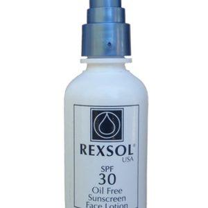 لوسیون ضد آفتاب فاقد چربی رکسول SPF30