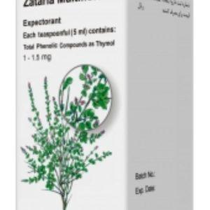 شربت ضد سرفه و خلط آور آویشن شیرازی برونکوتیدی تولیدارو 120ml