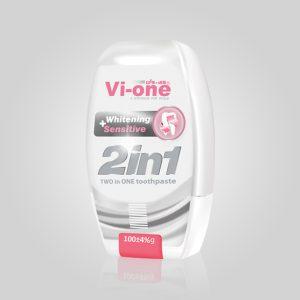 خمیر دندان سفید کننده و ضد حساسیت 1×2 وی-وان 100g