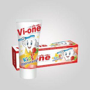 خمیر دندان کودک با طعم توت فرنگی وی-وان 60g