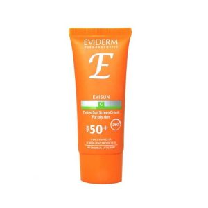 کرم ضد آفتاب رنگی بژ متوسط پوست چرب اوی سان اویدرم SPF50+