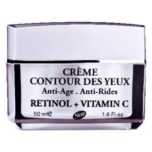 کرم ضد چروک و پیری دور چشم رتینول+ویتامین C آدنایس 50ml