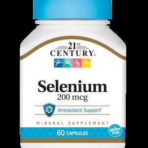 کپسول تقویت سیستم ایمنی بدن سلنیوم 200mcg 21سنتری 60 عددی
