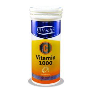 قرص جوشان افزایش قدرت سیستم ایمنی بدن ویتامین ث 1000 های هلث 10 عدد