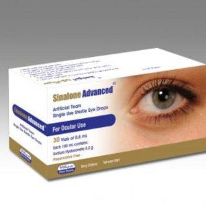 قطره استریل اشک مصنوعی تک دوز سینالون ادونسد سینا دارو 30 ویال 0/5ml