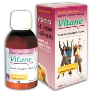 شربت مولتی ویتامین مينرال ویتان 200ml