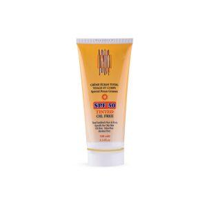 کرم ضد آفتاب رنگی فاقد چربی صورت و بدن آدنایس SPF30