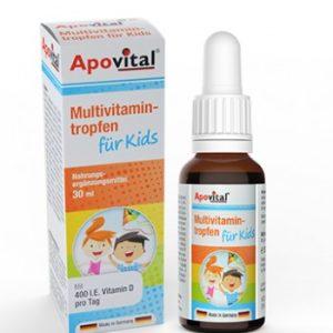 قطره مولتی ویتامین با طعم پرتقال کودکان تروفن آپوویتال 30ml