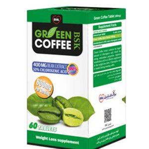 قرص آنتی اکسیدان کاهش وزن و فشار خون قهوه سبز بی اس کی 60 عددی