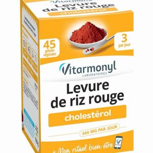 کپسول حفظ کلسترول خون مخمر برنج قرمز ویتارمونیل 666mg