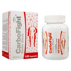 کپسول کمک به کاهش وزن و کاهش جذب کربوهیدرات پیچیده با عصاره لوبیا کربوفایت کارن 120 عددی