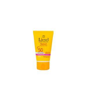 کرم ضد آفتاب رنگی T1 پوست نرمال و خشک سانسل لایسل SPF50+