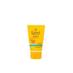 کرم ضد آفتاب رنگی T1 پوست چرب سانسل لایسل SPF50+