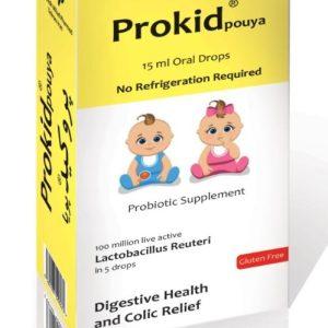 قطره پروبیوتیک کودکان پروکید پویا میلاد فارمد 15ml