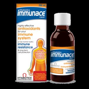 شربت تقویت عملکرد سیستم ایمنی بدن ایمونیس ویتابیوتیکس 200ml