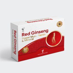 قرص مولتی ویتامین و مینرال افزایش انرژی و بهبود عملکرد جنسی رد جینسینگ ویتامین هاوس 30 عددی