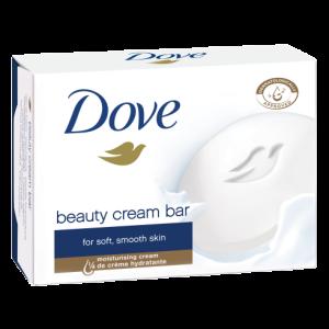 صابون صورت و بدن مناسب پوست خشک کرم دار بیوتی آبی داو 135gr