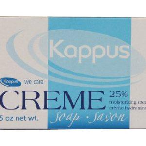صابون مرطوب کننده کرم دار 25 درصد کاپوس 150gr
