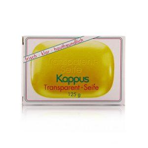 صابون مرطوب کننده و گلیسیرینه ترنس پارنت کاپوس 125gr