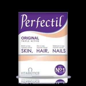 قرص مکمل پوست مو و ناخن پرفکتیل اورجینال ویتابیوتیکس 30 عددی