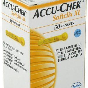 تست قند خون Softclix Lancet آکواچک 50 عددی